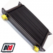 Mocal Black Oil Cooler 19 Row 235mm Matrix 1/2 BSP Threads